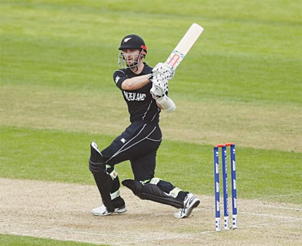 KANE Williamson ... fine show with the bat