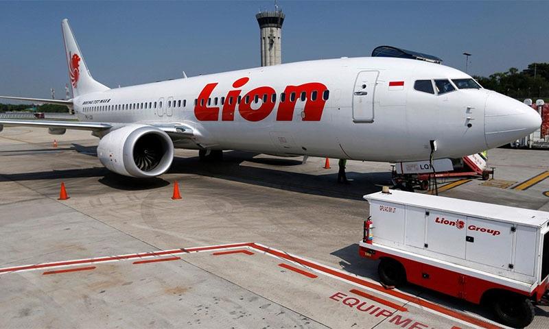 اکتوبر 2018ء میں انڈونیشیا کی لائن ایئر کا طیارہ بھی پرواز کے چند لمحوں بعد حادثے کا شکار ہوگیا تھا—تصویر: ٹوئٹر