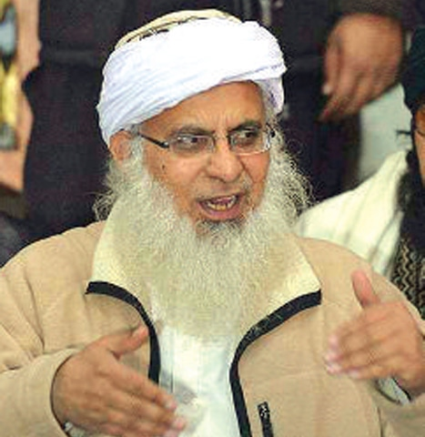 Maulana Abdul Aziz. — AFP file photo