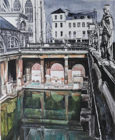 The Roman Bath (2016)