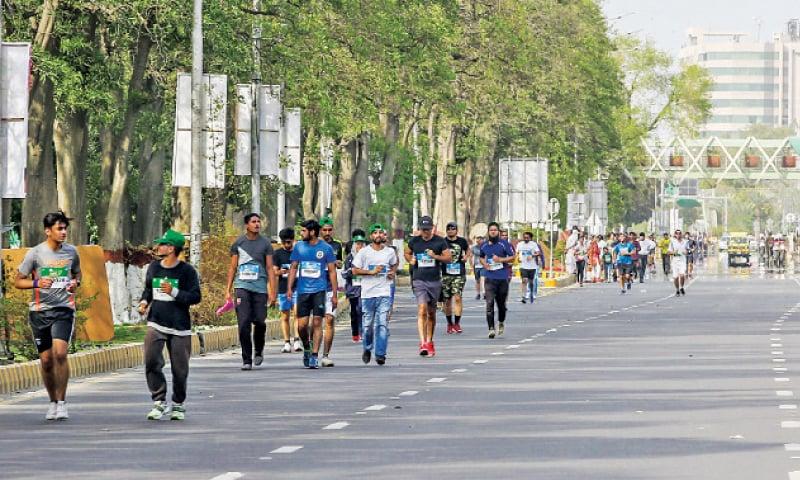 'Mismanagement' mars Lahore Marathon