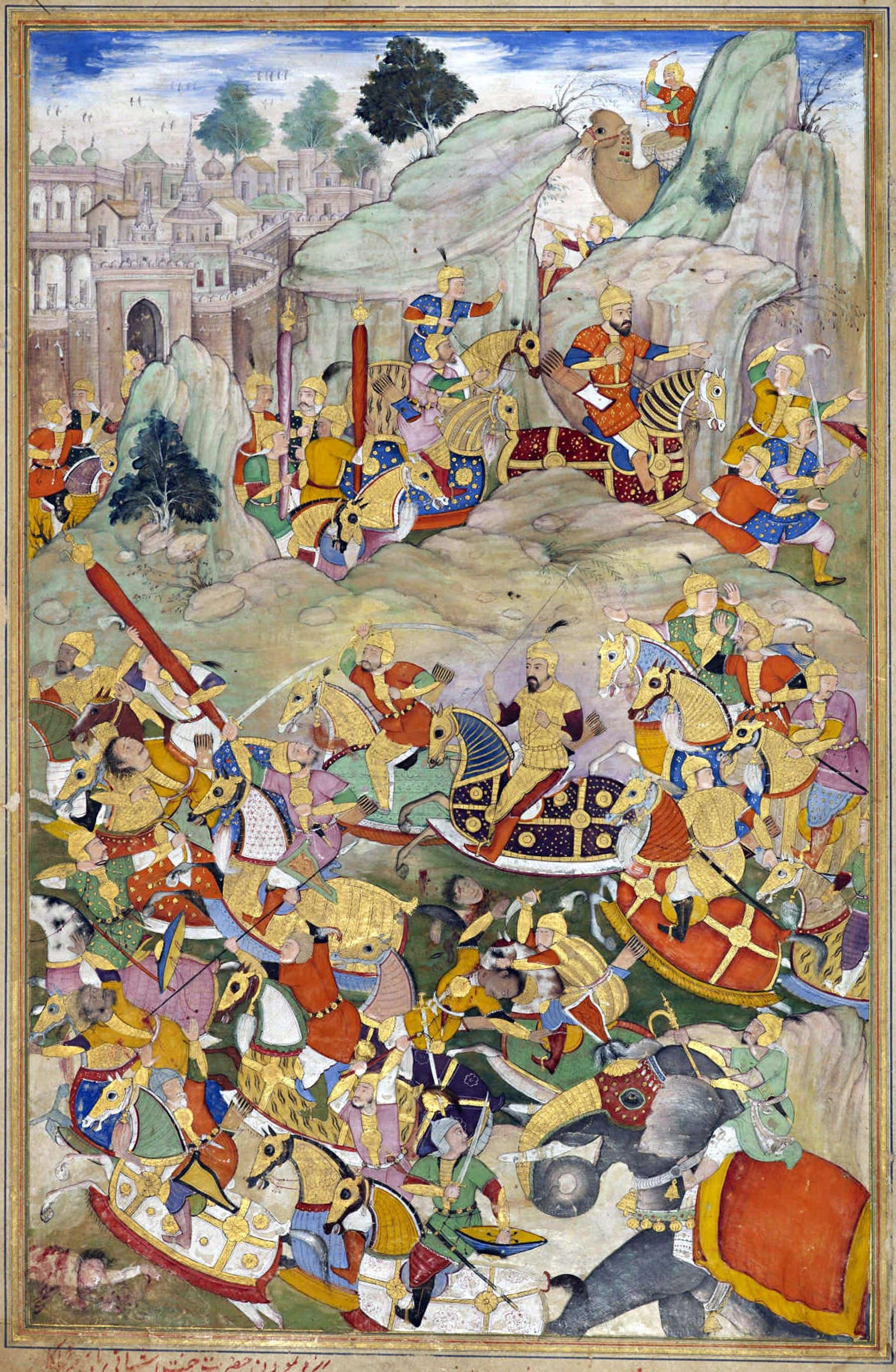 ہمایوں نے 1553ء میں بالآخر اپنے بھائی کامران کو کابل میں شکست دے دی