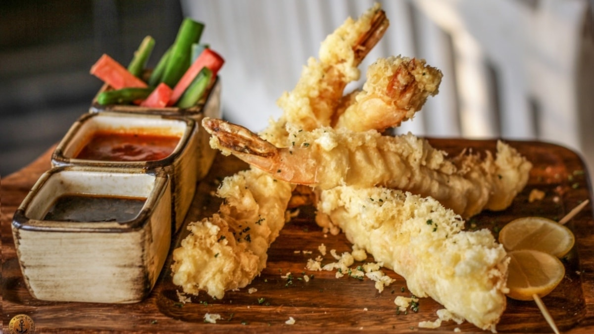 The tempura could be omitted