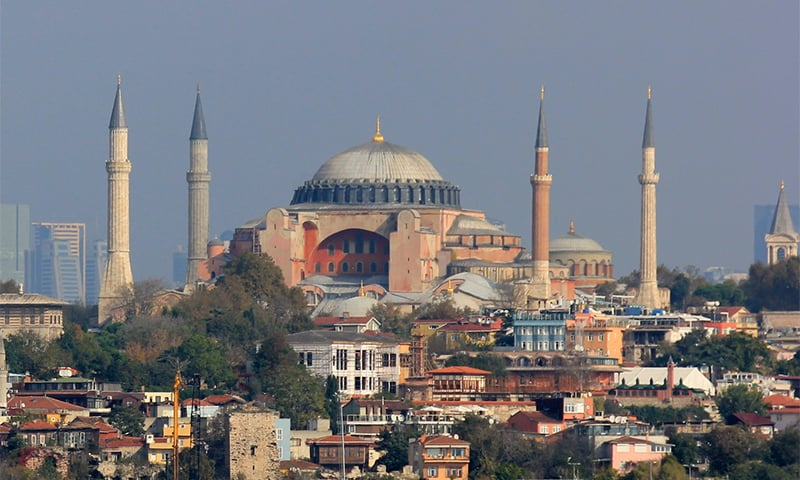 Erdogan's suggestion drew ire in Greece as the cathedral, originally built in the 6th century was the main seat of the Greek Orthodox church. It remained so until it was converted into a mosque after the Ottoman conquest of the city, then-known as Constantinople, in 1453. Turkey's secular founder turned the structure into a museum in 1935 that attracts millions of tourists each year. ─ Wikimedia Commons