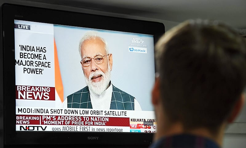 India claims to shoot down satellite, join 'space superpowers'