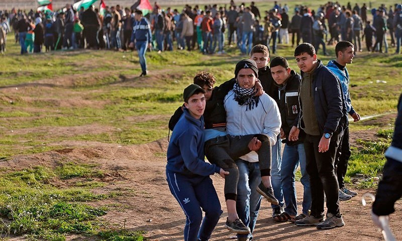 اسرائیلی فوج نے طبی رضاکار کی موت پر تبصرہ کرنے سے گریز کیا—فائل فوٹو:اے ایف پی