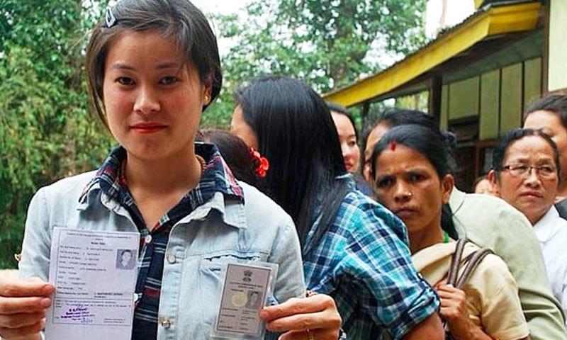 کروڑوں لڑکیاں پہلی بار اپنا حق رائی دہی استعمال کریں گی—فوٹو: پاس بلیو ڈاٹ کام
