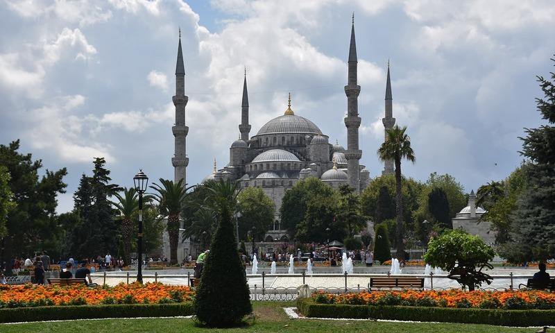 اب جو بھی یہاں آئے گا وہ حاجیہ صوفیہ مسجد آئے گا، ترک صدر رجب طیب اردوان — فوٹو: رمضان رفیق