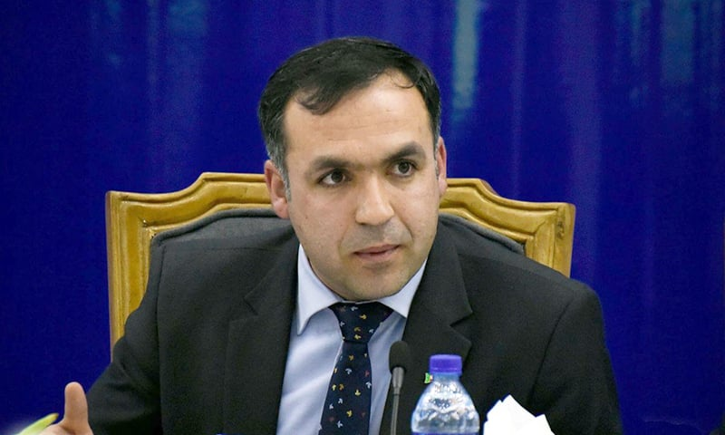 Afghan Ambassador Shukrullah Atif Mashal. — Photo courtesy: @MashalAtif