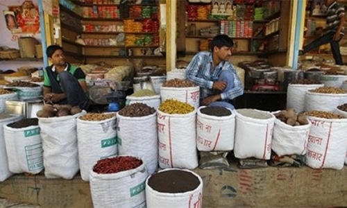 Traders object to move, say more than 3,000 kanals of land is needed for new market. — AP/File
