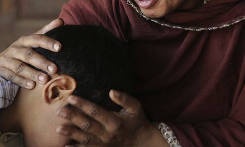 According to a report, nine children are abused in Pakistan every day. — AP/File