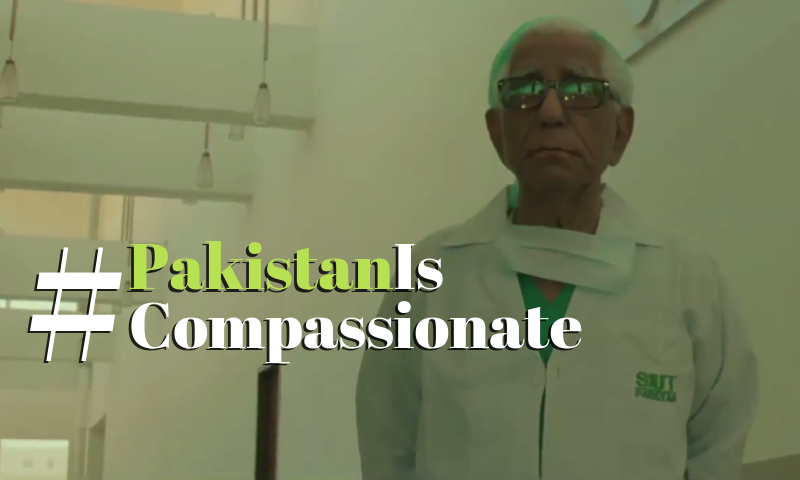Take a look into SIUT in Karachi, and see how #PakistanIsCompassionate