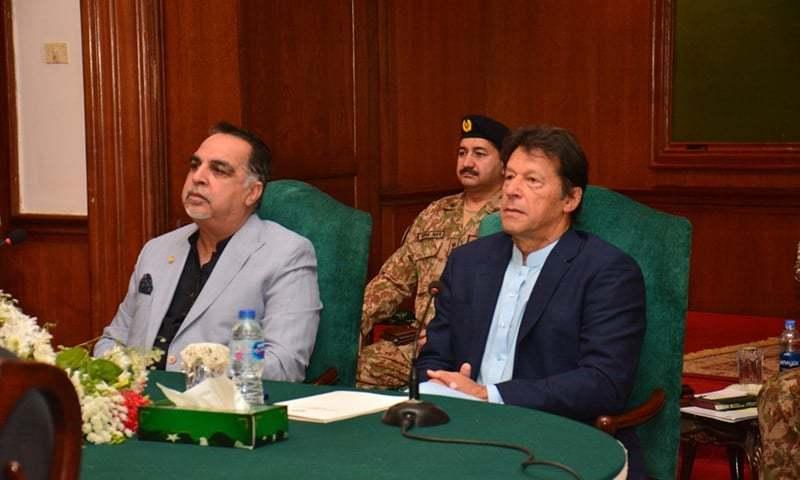 کراچی کی ترقی پورے پاکستان کے لیے ضروری ہے، وزیراعظم عمران خان — فوٹو: ڈان نیوز