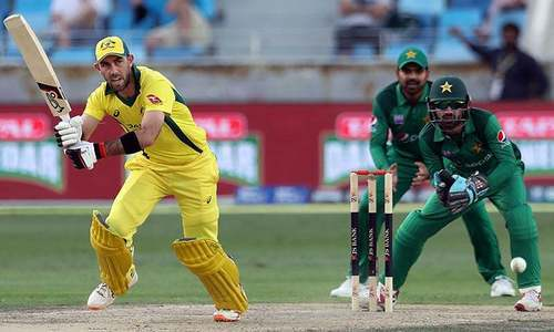 Pakistan falls in an extraordinary heap to lose six wickets for 52 runs and the match by six runs.— AFP/File