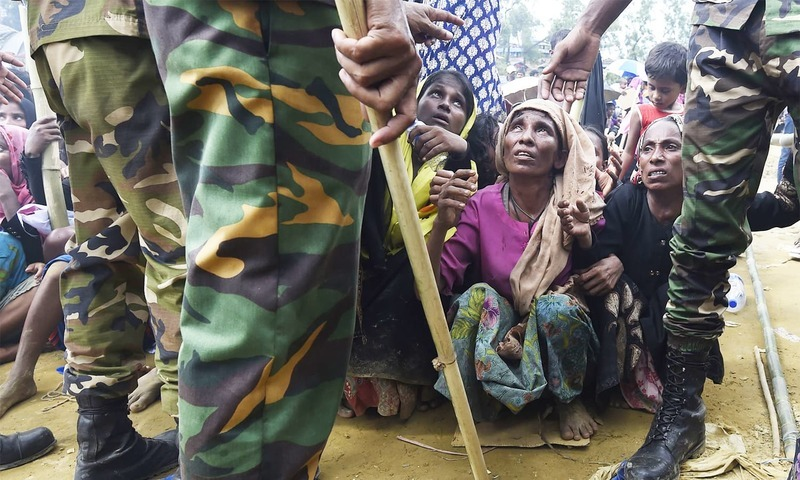 More than 300 people, including 20 Rohingya, have been killed in the clampdown launched in May last year. ─ AFP/File