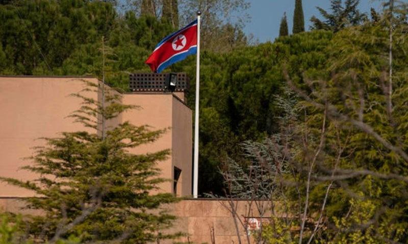 اسپین میں سفارت خانے پر حملے سے متعلق تحقیقات جاری ہیں — فوٹو: بشکریہ دی سینٹینل