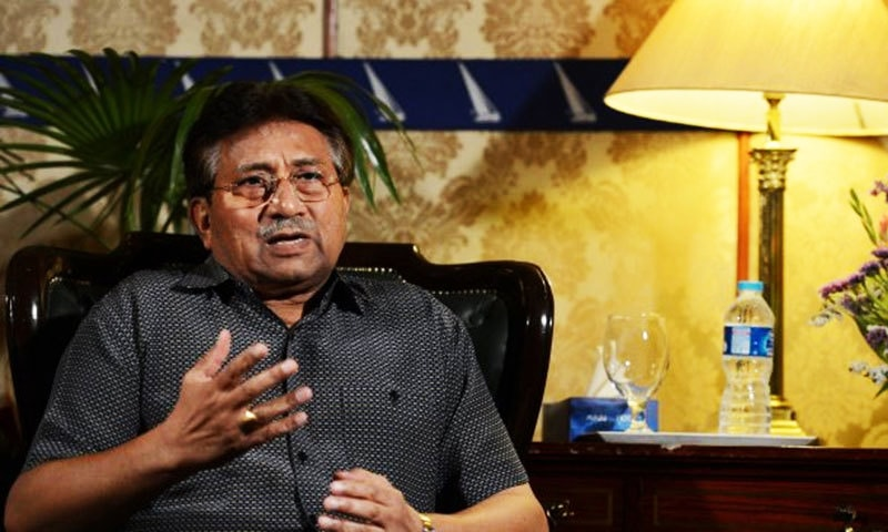Chief Justice Asif Saeed Khosa on Monday said that if former president Pervez Musharraf did not appear before the court despite giving commitments to do so, something should be done. — AFP/File