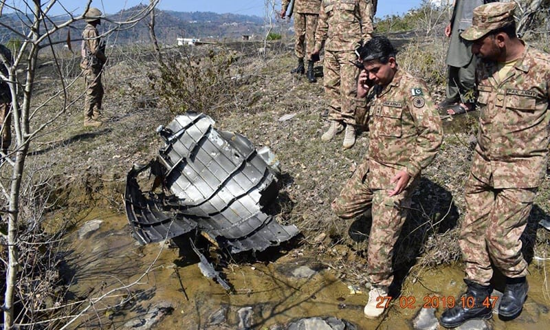 Irrelevant whether Indian planes that violated LoC were targeted by F-16s or JF-17s: ISPR