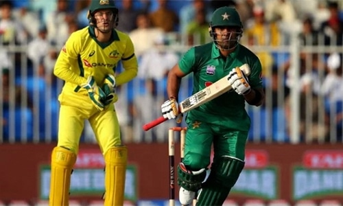 "PCB press release says the middle-order batsman has ""pleaded guilty"" and accepted sanctions. — Photo courtesy: PCB website"