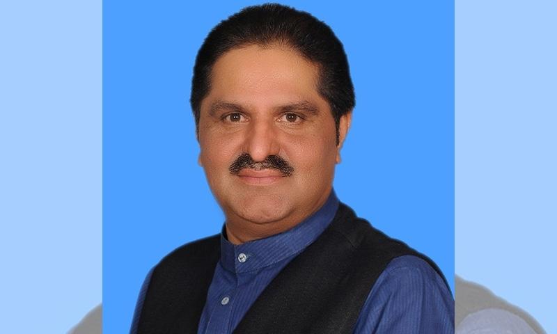 علی محمد مہر وفاقی وزیر نارکوٹس اور پی ٹی آئی رہنما ہیں—فائل فوٹو: قومی اسمبلی ویب سائٹ