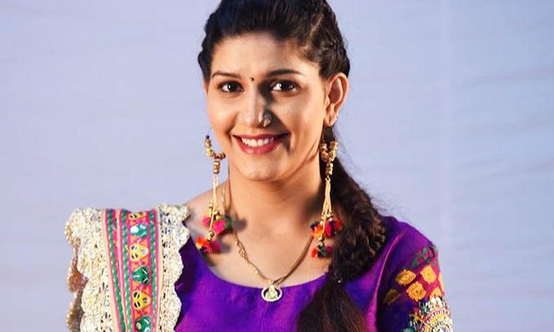 سپنا چوہدری اتر پردیش، دہلی، ہریانہ، تلنگانہ اور پنجاب میں شہرت رکھتی ہیں—اسکرین شاٹ/یوٹیوب