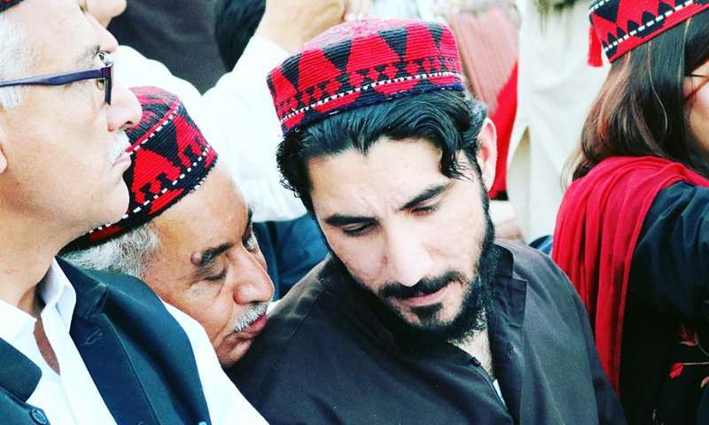 The provincial home department has extended ban on Pashtun Tahaffuz Movement chairman Manzoor Pashteen's entry into Balochistan for 90 days. — Aima Khosa/File