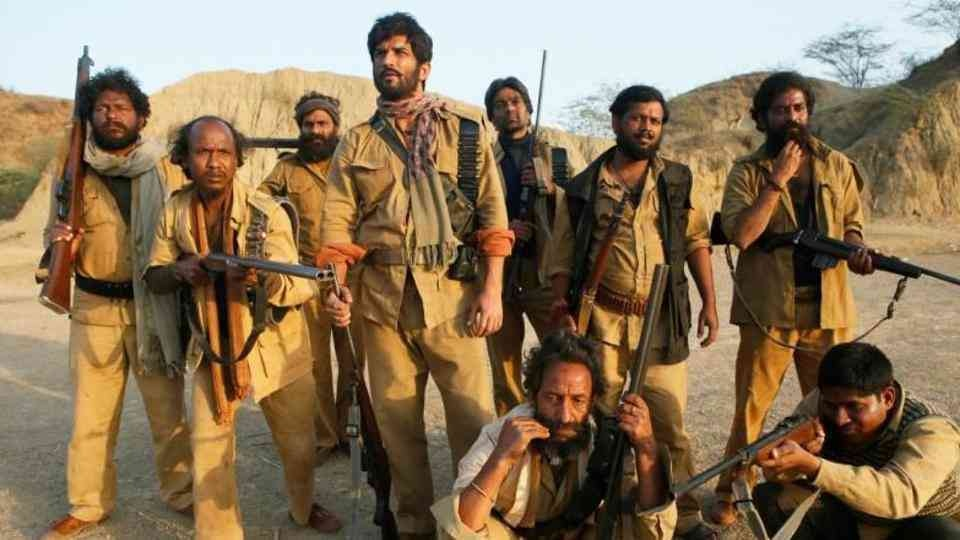 A still from Sonchiriya. Dacoits and their lives have been the subject of many Hindi films.—RSVP Movies