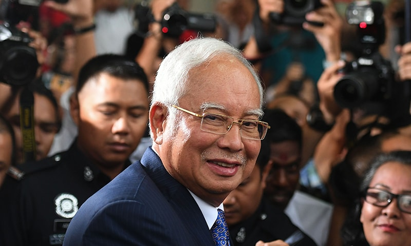 Malaysia ex-PM Najib goes on trial over 1MDB mega-scandal