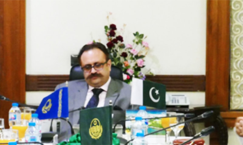 Chairman PBIT Sardar Tanvir Ilyas Khan has started contacting embassies and diplomats to make the expo a success.— Photo courtesy of PBIT