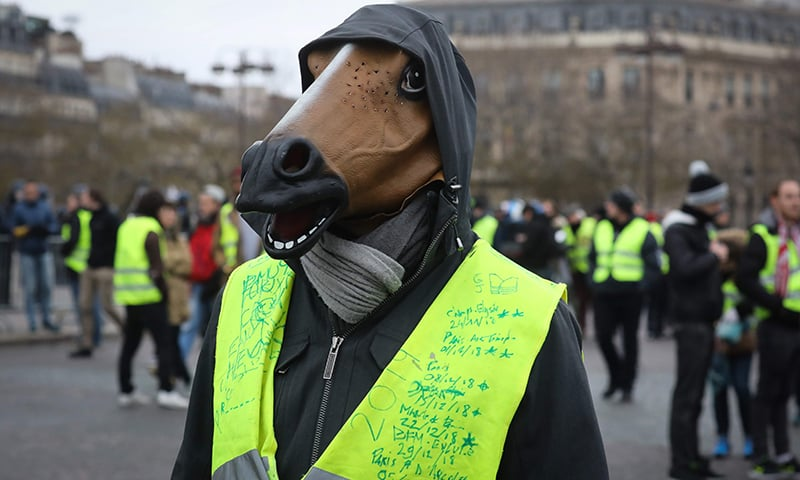 French authority rejects pre-emptive 'yellow vest' protest bans
