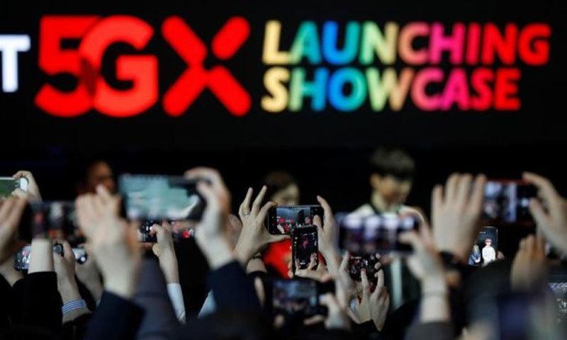 جنوبی کوریا فائیو جی کو متعارف کرانے والا پہلا ملک بن گیا—فوٹو: دی اسٹار