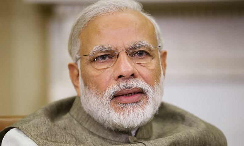 Indian premier Narendra Modi says his government doesn't work for Hindus or Muslims, but for the welfare of people. — AP/File