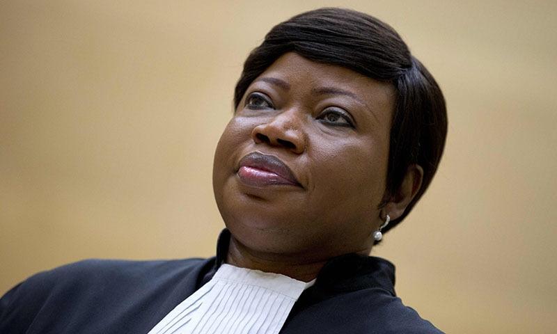 In this file photo taken on September 29, 2015 at the International Criminal Court (ICC) in The Hague shows ICC chief prosecutor Fatou Bensouda whose office said on Arpil 5, 2019, the United States has revoked her visa over a possible investigation of American soldiers' actions in Afghanistan. — AFP