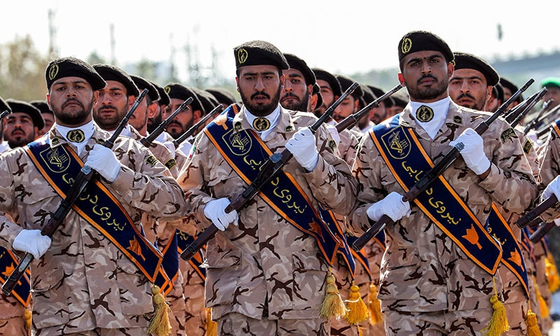 US to declare Iran's Revolutionary Guards as terrorist group: WSJ