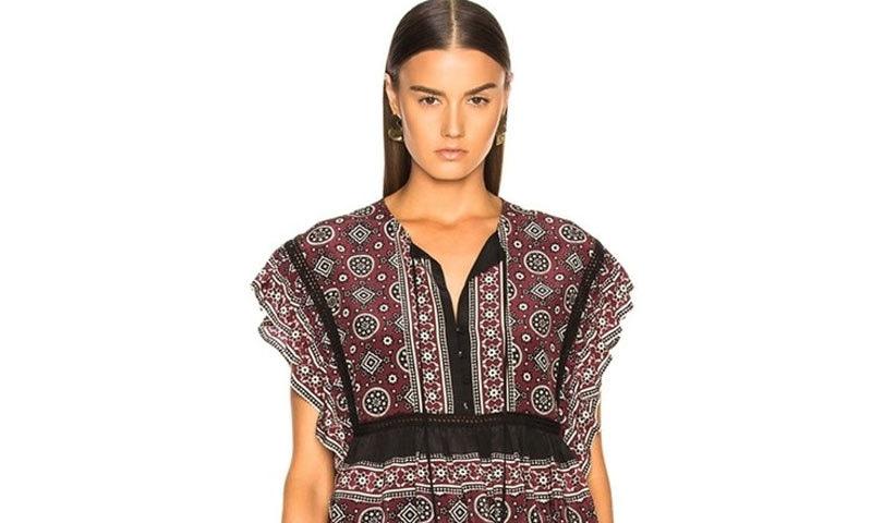 خواتین کے شرٹ کی قیمت 47 ہزار روپے سے 18 ہزار روپے تک رکھی گئی ہے—فوٹو: ایف ڈبلیو آر ڈی
