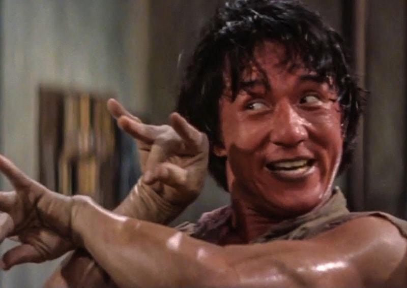 جیکی چن کا ایک انداز—اسکرین شاٹ