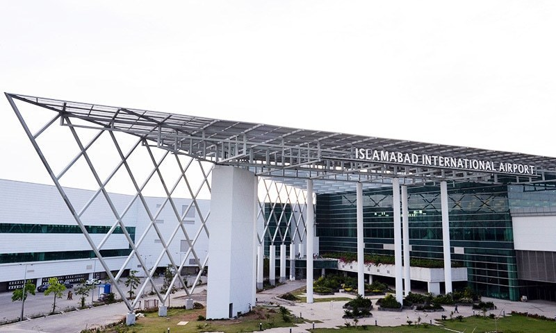 """A survey started on Monday in preparation for installation of """"face reading cameras"""" at the Islamabad International Airport that could keep track of people's movement. — AFP/File"""