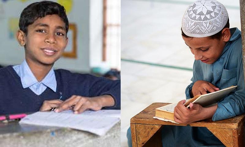 'سرکاری اسکولوں کا پہلے والا معیار کہاں گیا'—فوٹو: ڈان نیوز