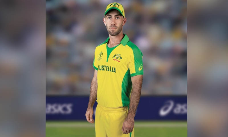 آسٹریلوی ٹیم کی کٹ — فوٹو بشکریہ کرکٹ ورلڈ کپ ٹوئٹر اکاؤنٹ