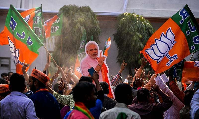 Modi rides nationalist fervour to retain edge in Indian elections beginning tomorrow