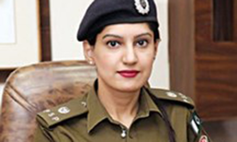 Anoosh Masood Chaudhry, a policewoman heading the Model Town investigation wing, has secured 1st position.