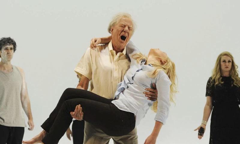 جیفری رش اور ایرین نارولز نے اسٹیج ڈرامے میں ایک ساتھ کام کیا تھا—فوٹو: دی آسٹریلین