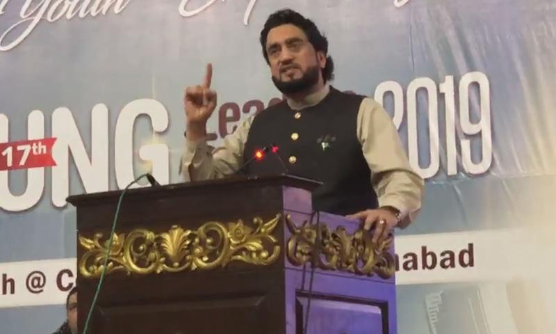 انہوں نے اس بات کو خرج ازامکان قرار دیا کہ پاکستان کو بلیک لسٹ کیا جاسکتا ہے—تصویر:ڈان نیوز ٹی وی