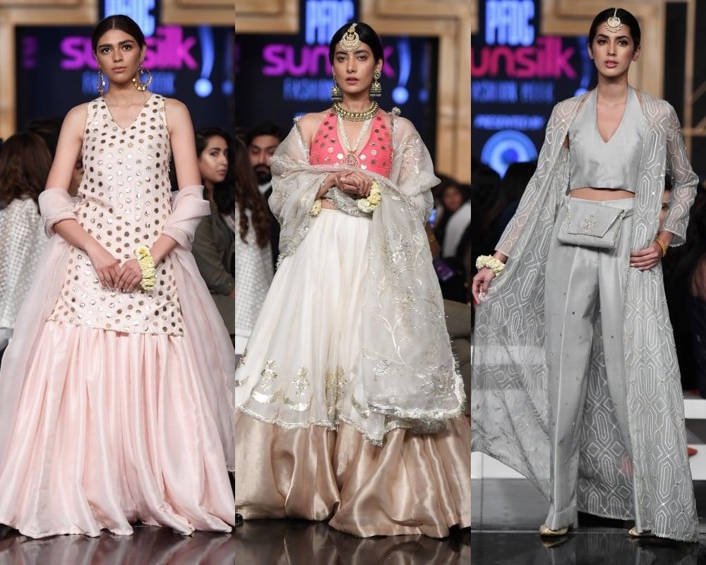 3a2e5d794e Sania Maskatiya and Zara Shahjahan steal the show on PSFW Day1 ...