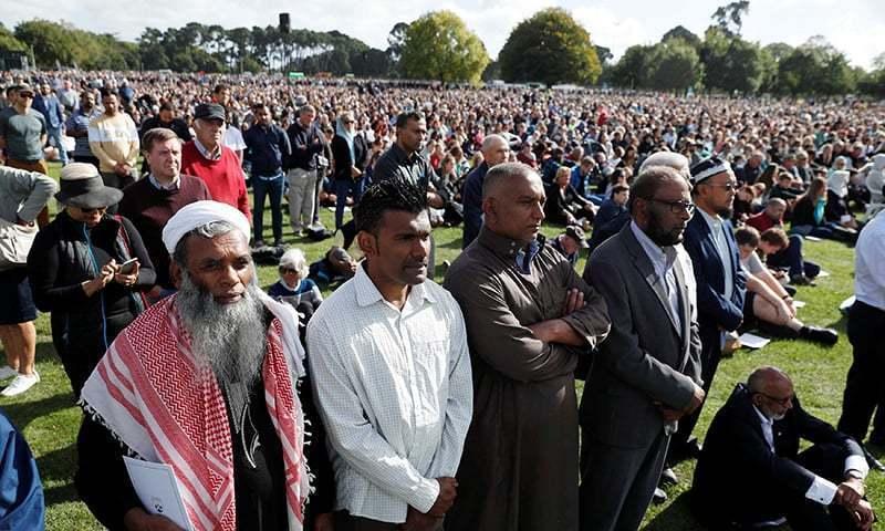 'کئی مسلمان مسجد واپس آنا چاہتے ہیں تاہم ان کے سامنے دہشت گردی کا واقعہ آجاتا ہے جو اچھی بات نہیں' — فائل فوٹو/اے ایف پی