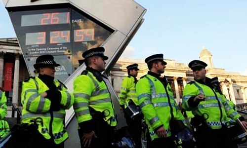 Six officers of Sindh police appeared before the UK police's Counter Terrorism Command as witnesses. — AFP/File
