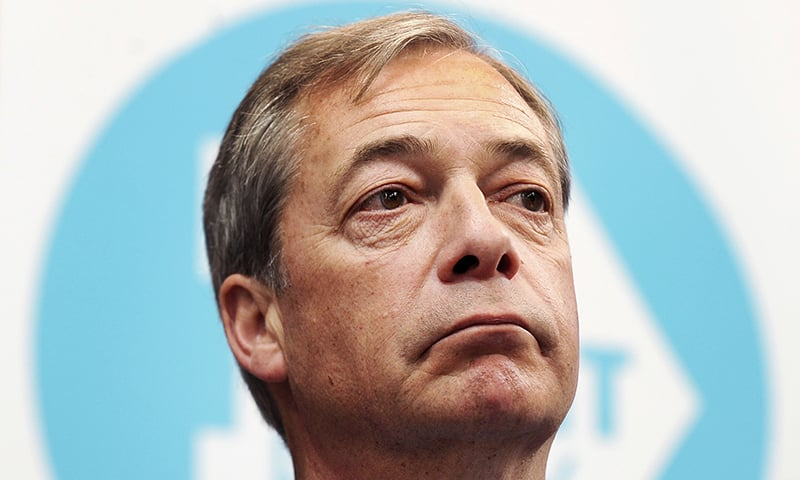 Anti-EU Brexit Party launches EU election campaign