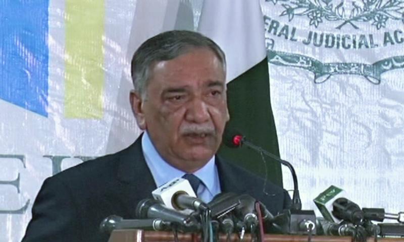 پاکستان میں بھی جوڈیشل پالیسی کے تحت مقدمات کے لیے وقت مقرر کیا جائے گا — فوٹو: اسکرین شاٹ
