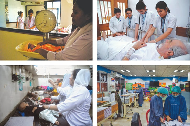 Well-trained nurses are the backbone of health delivery system
