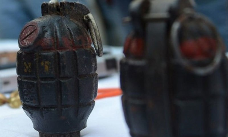 A boy was killed and five others were injured when a hand grenade went off in Takht-i-Nusrati tehsil on Sunday. — AFP/File